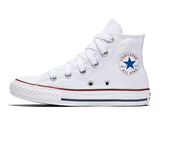 נעלי אולסטאר ילדים ילדות לבן Converse White