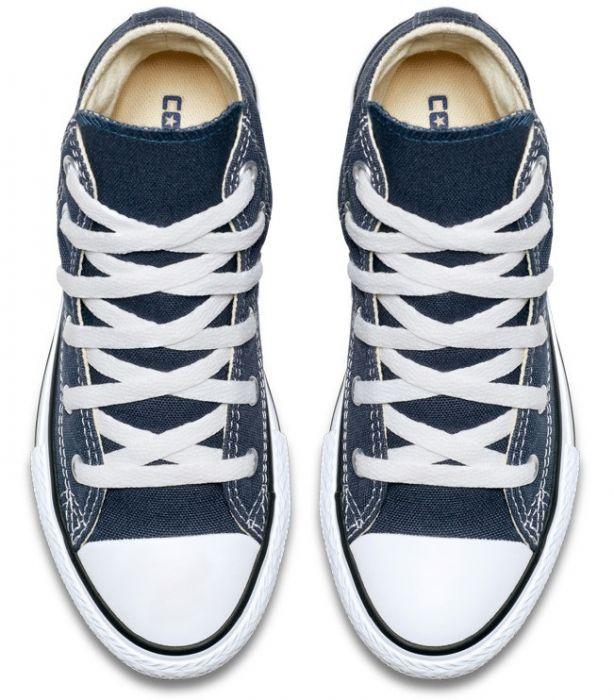 נעלי אולסטאר ילדים ילדות כחול Converse Navy - תמונה 3