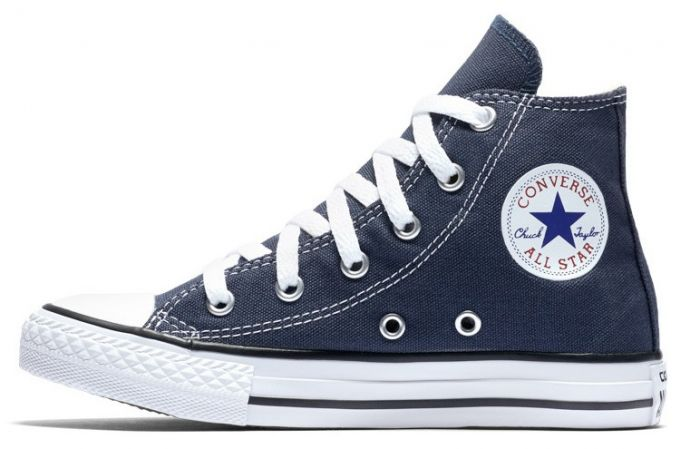 נעלי אולסטאר ילדים ילדות כחול Converse Navy - תמונה 1
