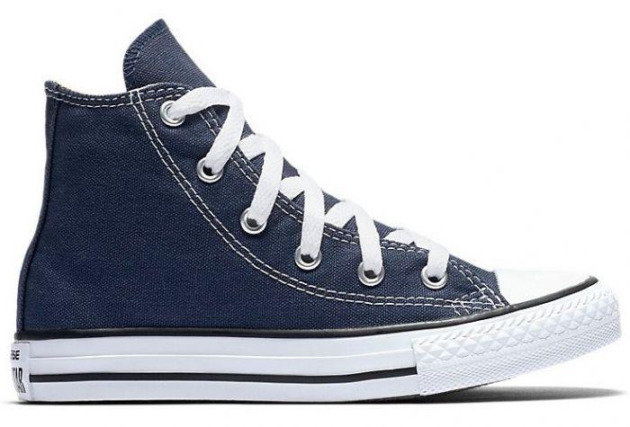 נעלי אולסטאר ילדים ילדות כחול Converse Navy - תמונה 2