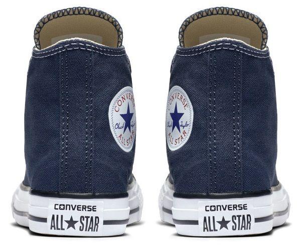נעלי אולסטאר ילדים ילדות כחול Converse Navy - תמונה 4