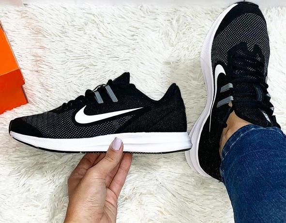 נעלי נייק ספורט נשים נוער Nike Downshifter 9 - תמונה 5