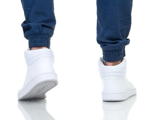 נעלי אדידס גבוהות גברים Adidas Hoops mid - תמונה 3