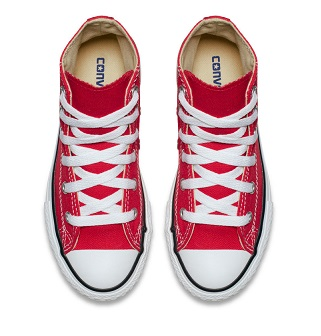 נעלי אולסטאר ילדים ילדות אדום Converse Red