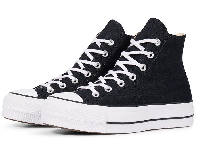 נעלי אולסטאר פלטפורמה גבוה בד נשים Converse Platform High