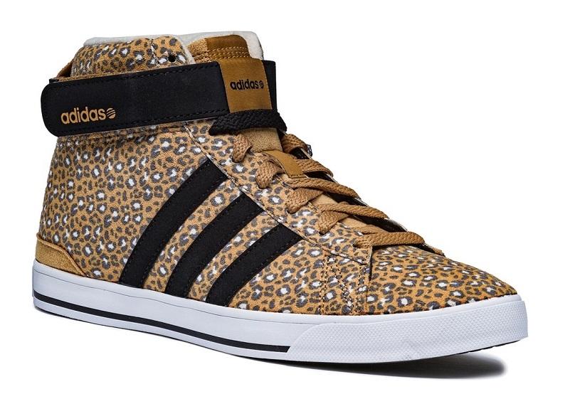 נעלי אדידס גבוהת מנומרות נשים Adidas daily twist mid