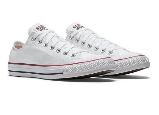 נעלי אולסטאר לבן חצאיות נשים גברים Converse optical white