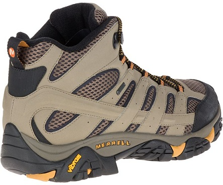 נעלי מירל טיולים גברים Merrell moab 2 mid gore-tex - תמונה 3