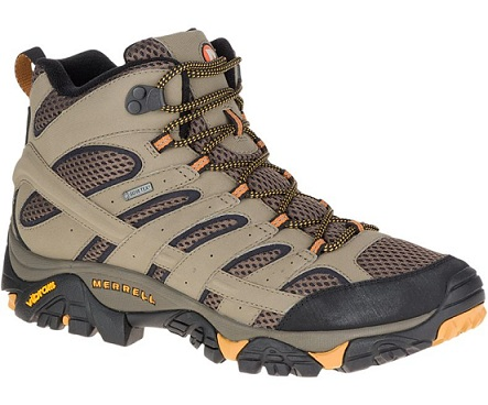 נעלי מירל טיולים גברים Merrell moab 2 mid gore-tex