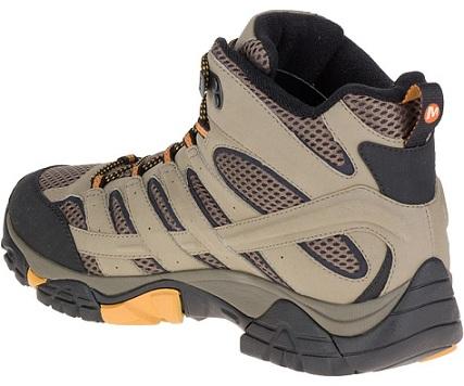 נעלי מירל טיולים גברים Merrell moab 2 mid gore-tex - תמונה 2