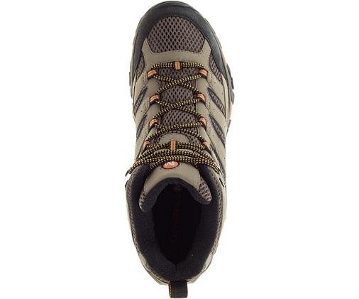 נעלי מירל טיולים גברים Merrell moab 2 mid gore-tex - תמונה 4