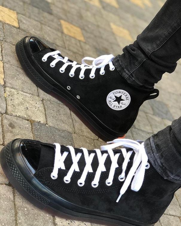 נעלי אולסטאר זמש גברים Converse Suede