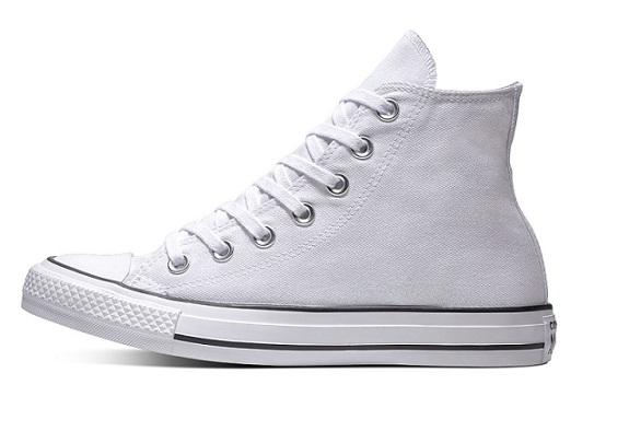 נעלי אולסטאר לבן מטאלי מנצנץ נשים Converse Precious Metals