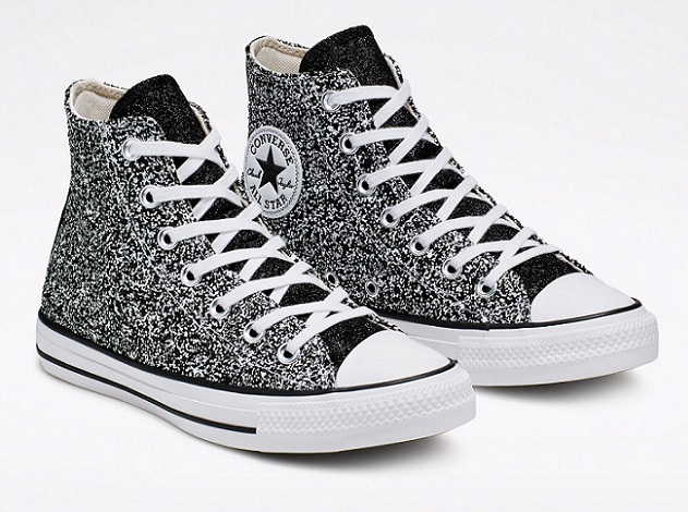 נעלי אולסטאר מנצנץ נצנצים נשים Converse Galaxy Dust - תמונה 5