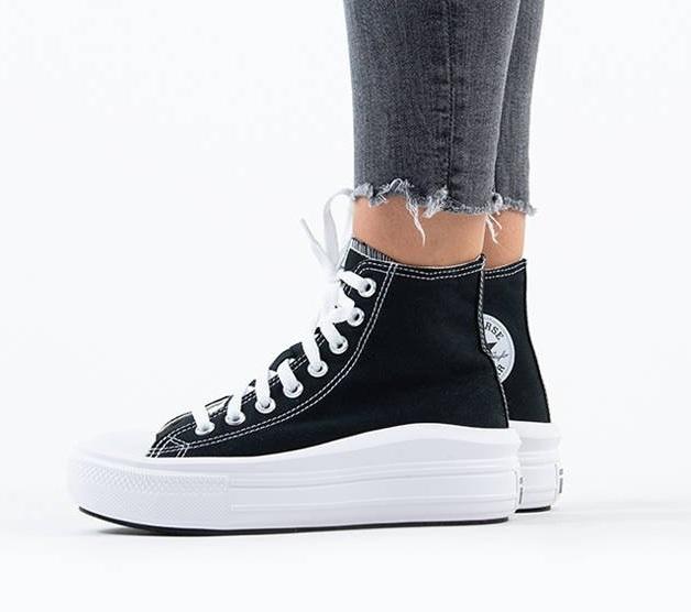 נעלי אולסטאר פלטפורמה גבוה נשים Converse Move Platform