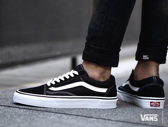 נעלי ואנס אולדסקול נשים גברים גברים Vans OLD School