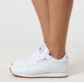 נעלי ריבוק קלאסיק נשים Reebok Classic Leather - תמונה 2