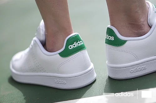 נעלי אופנה אדידס גברים Adidas Cloudfoam Advantage