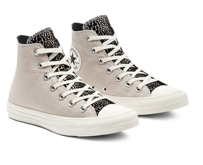 נעלי אולסטאר בז' נשים Converse Digital Daze