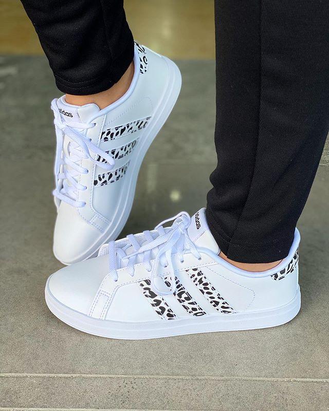 נעלי אדידס אופנה נשים נוער Adidas Courtpoint X