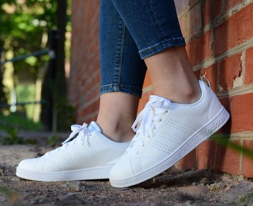 נעלי אדידס אופנה נשים נוער Adidas Vs Advantage Clean