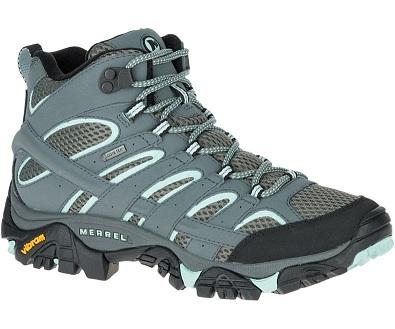 נעלי מירל טיולים נשים Merrell moab mid gore-tex