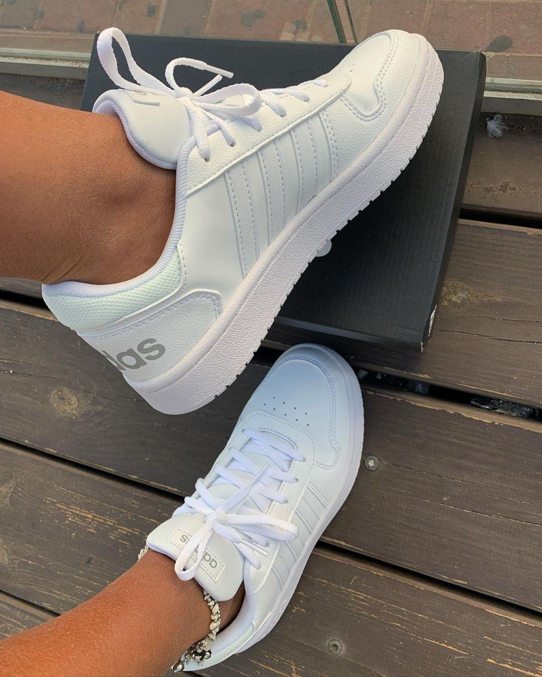 נעלי אדידס אופנה נשים Adidas Hoops