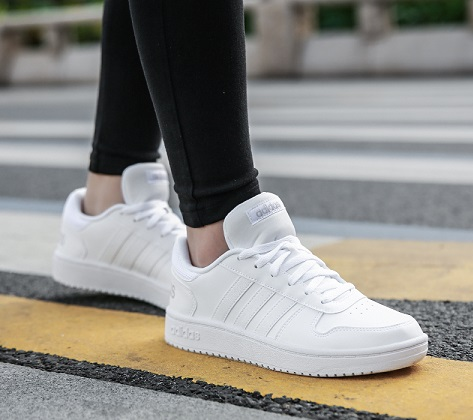 נעלי אדידס אופנה נשים Adidas Hoops - תמונה 2