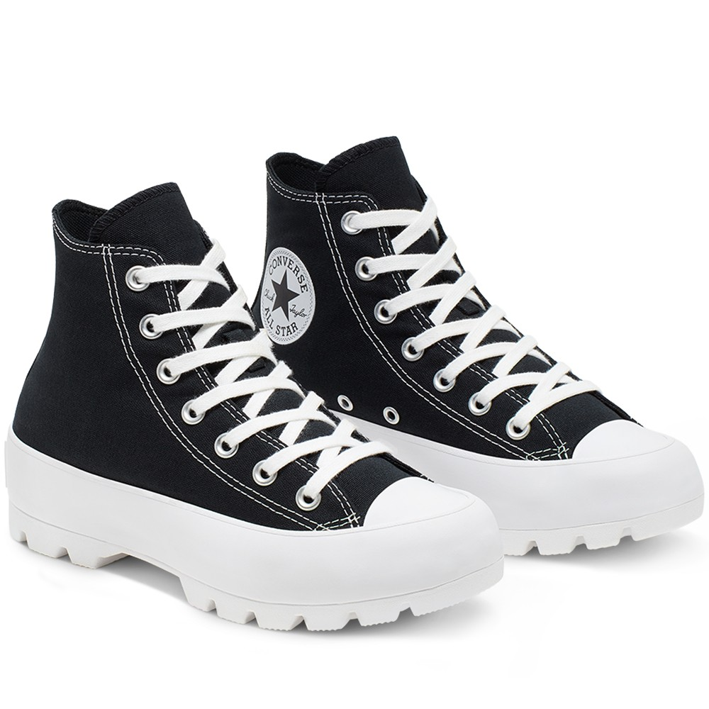 נעלי אולסטאר פלטפורמה גבוה נשים Converse Lugged High