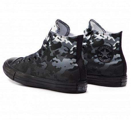 נעלי אולסטאר מנומר צבאי גברים Converse Camouflage