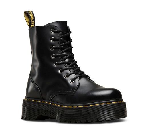 נעלי דוקטור מרטינס פלטפורמה נשים Doctor Martens Jadon Platform - תמונה 3