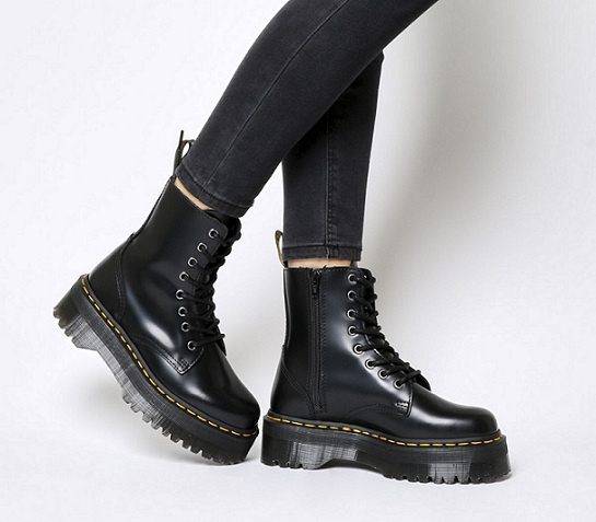נעלי דוקטור מרטינס פלטפורמה נשים Doctor Martens Platform - תמונה 2