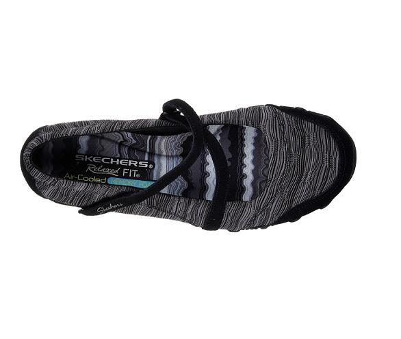 נעלי סקצ'רס בובה נשים Skechers Bikers Ripples - תמונה 2