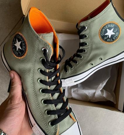 נעלי אולסטאר זית ירוק Converse Space Explorer