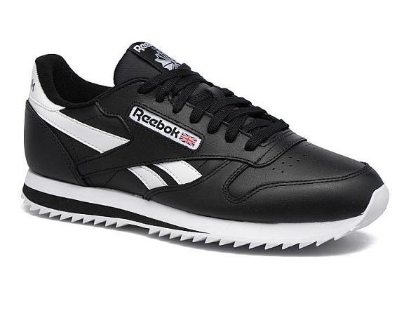 נעלי ריבוק אופנה גברים Reebok Classic Leather Ripple  - תמונה 1