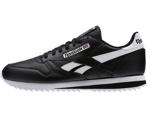 נעלי ריבוק אופנה גברים Reebok Classic Leather Ripple