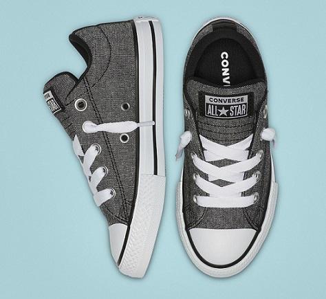 נעלי אולסטאר סליפאון ילדים Converse Street Slip - תמונה 2