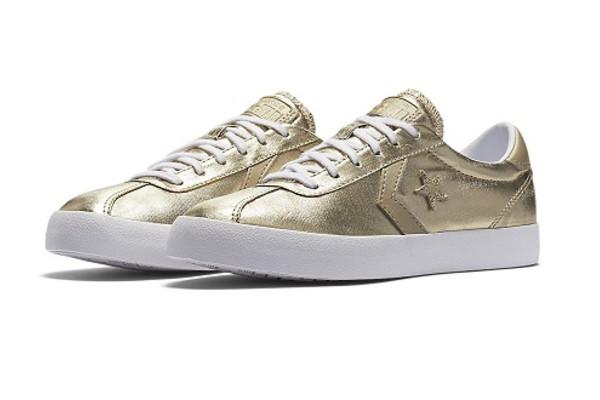 נעלי אולסטאר זהב נשים Converse Breakpoint Gold
