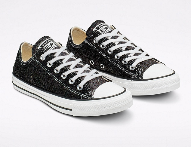 נעלי אולסטאר מנצנץ נצנצים נשים Converse Galaxy Dust - תמונה 4
