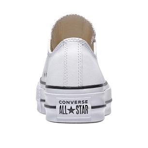 נעלי אולסטאר פלטפורמה עור נשים Converse Platform Leather - תמונה 3