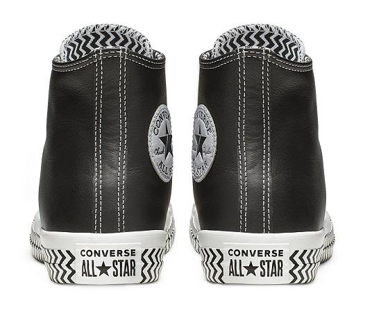 נעליי אולסטאר עור נשים Converse Mission-V - תמונה 4