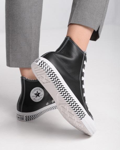 נעליי אולסטאר עור נשים Converse Mission-V - תמונה 6