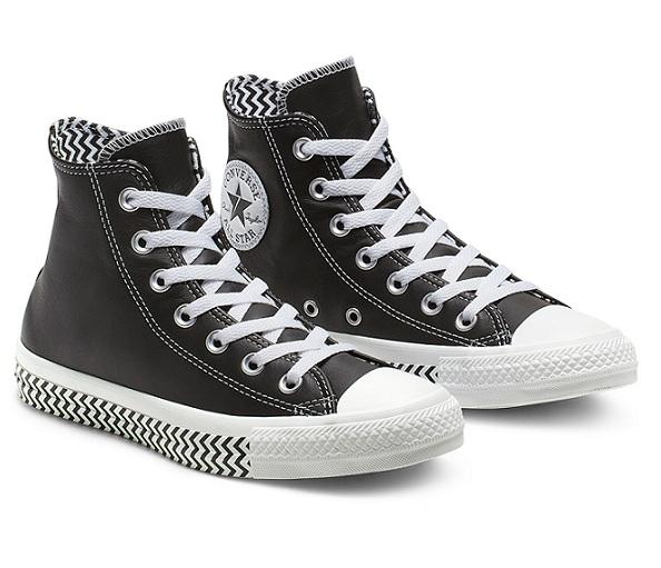 נעליי אולסטאר עור נשים Converse Mission-V - תמונה 2