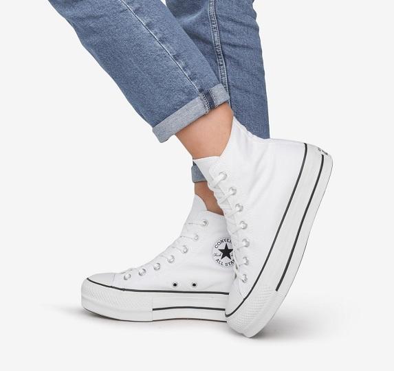 נעלי אולסטאר פלטפורמה גבוהות נשים Converse Platform High Top