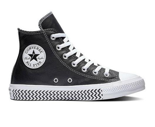 נעליי אולסטאר עור נשים Converse Mission-V - תמונה 1
