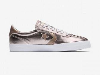 נעלי אולסטאר ורוד מטאלי נשים Converse Breakpoint Rose Quartz