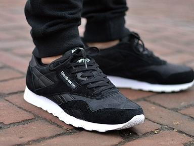 נעלי ריבוק אופנה גברים Reebok Clasdic Nylon