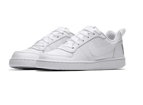 נעלי נייק אופנה נשים נוער Nike Court Borough Low - תמונה 2