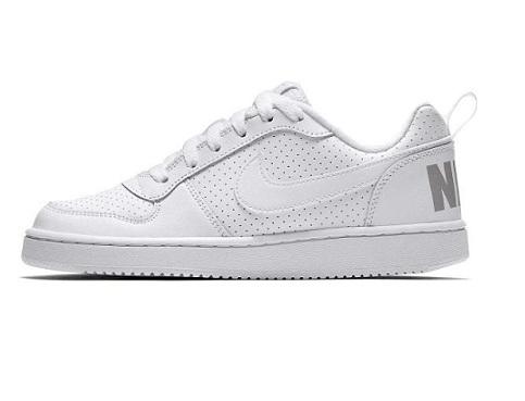 נעלי נייק אופנה נשים נוער Nike Court Borough Low - תמונה 1