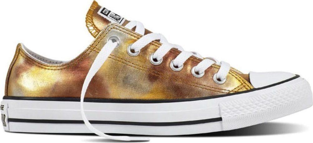 נעלי אולסטאר זהב כסף מטאלי נשים Converse Silver Gold Metalic